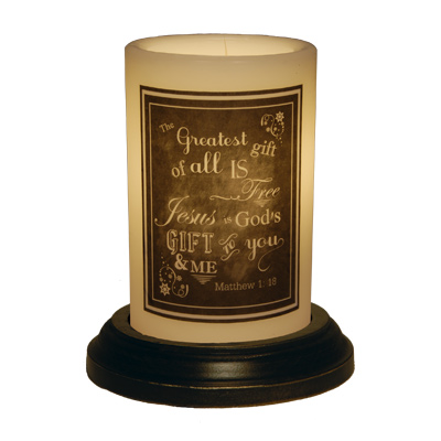 CANDLE SLEEVE - CHALKBOARD GREATEST GIFT