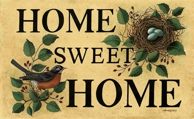DECORATIVE FLOOR MAT - HOME SWEET HOME