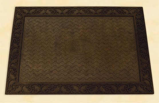 MAT TRAY - SCROLL BORDER