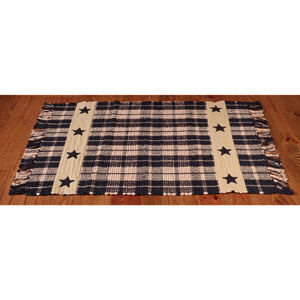 RUG - FARMHOUSE STAR BLACK