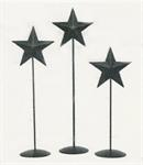 BLACK PEDESTAL STAR