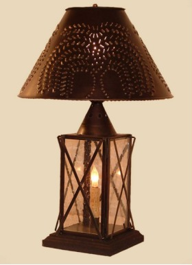 Iron and Country Table Lamps