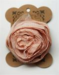 BROOCH - SMALL ROSE - PEACH