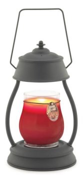Black Hurricane Lamp
