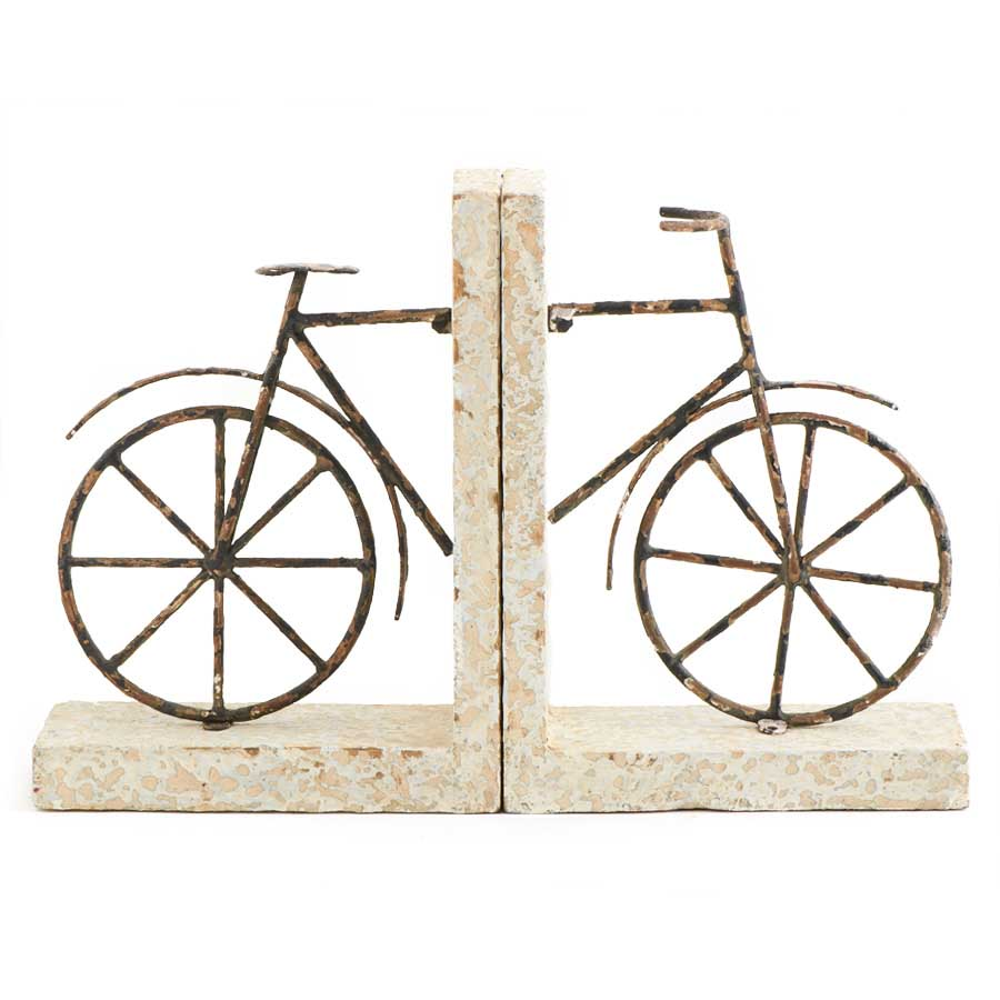 Book Ends - Wood Bicycle Book Ends
