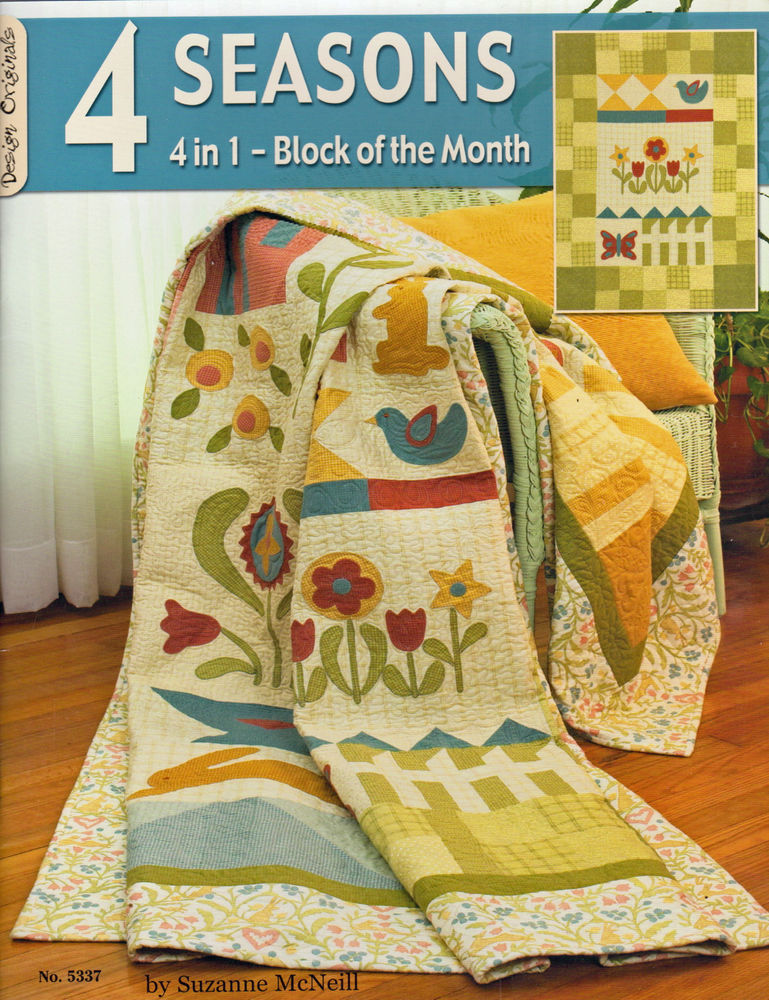 Books: 4 Seasons - Block of the Month