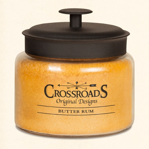 CANDLE - BUTTER RUM 48 OZ