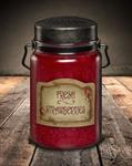 CANDLE - JAR FRESH STRAWBERRIES 26 OZ