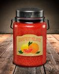 CANDLE - JAR GRAPEFRUIT MELANGE, 26 OZ