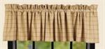 CURTAIN - VALANCE KINGSTON CHECK