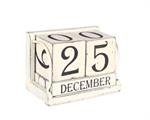 Calendar Blocks - Vintage, White