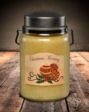 Candle - Jar, Christmas Morning 26oz