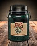 Candle - Jar, Under The Mistletoe, 26oz