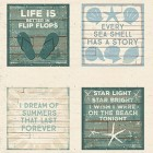 FABRIC - BEACH HOUSE - Beach Sayings