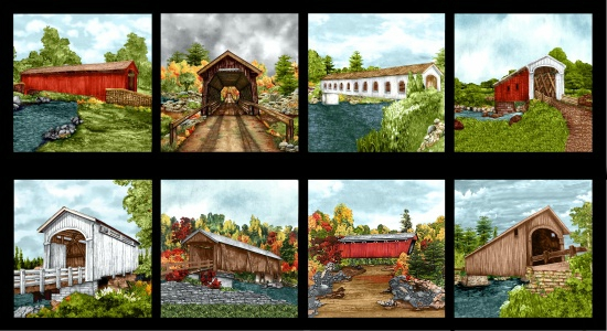 FABRIC - COVERED BRIDGES