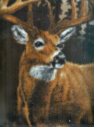 FLEECE - REAL TREE - Deer Country Panel