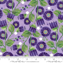 Fabric - Sweet Pea & Lily - Asters