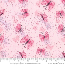 Fabric - Sweet Pea & Lily - Butterflies