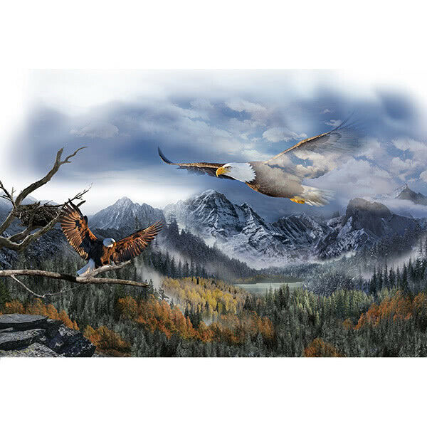 Hoffman California - Call of The Wild - 28' Eagle Panel, Sky Blue