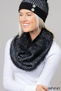 Infinity Scarf - Feeling Fierce Knit, Asst
