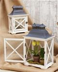 Lantern - Coastal, Nested, Small