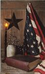 Lighted Canvas - God & Country