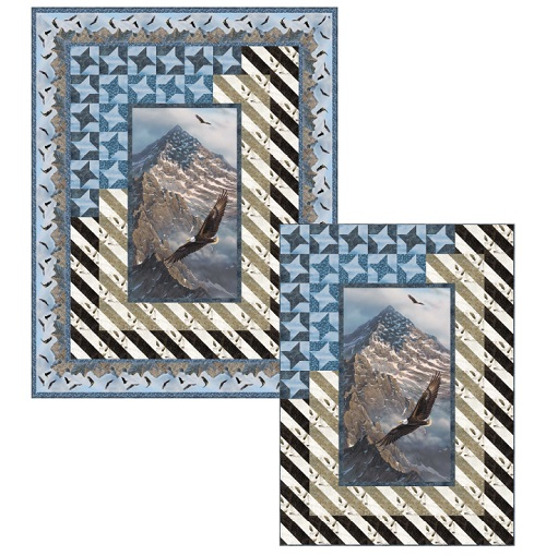 Northcott Pattern - Great Heights - Throw or Wall Size