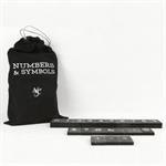 Numbers & Symbols For Black Letterboard