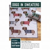 PATTERN - Dogs in Sweaters - Quilt & Pillow Pattern