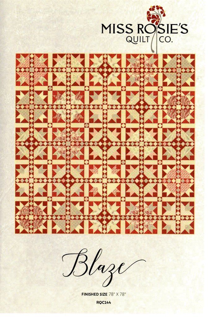 PATTERN - Holly Woods  78'x 78' Quilt Pattern