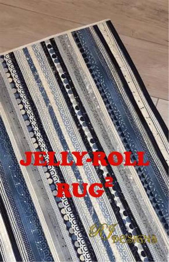 PATTERNS - Jelly Roll Rug 2