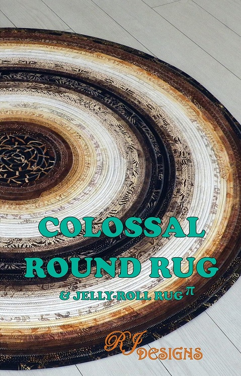 PATTERNS - Round Jelly Roll Rug