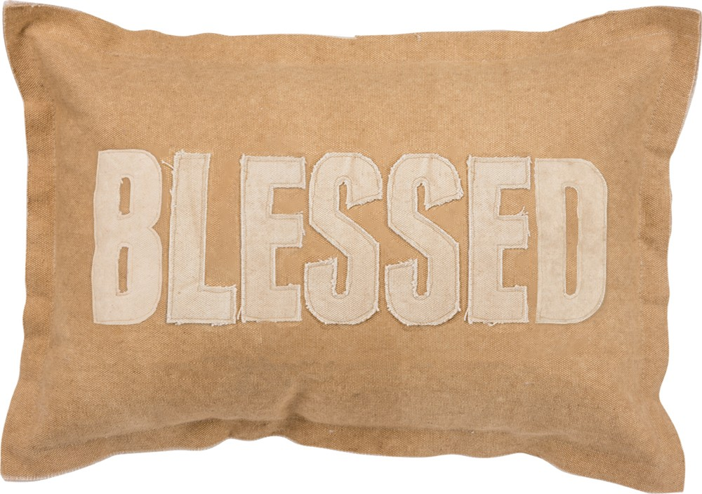 PILLOW - 'BLESSED'
