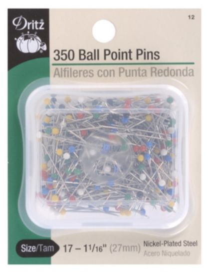 PINS - 350 BALL POINT - SIZE 17