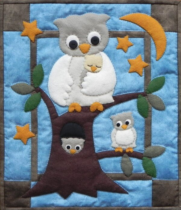 Patttern - Owl Family