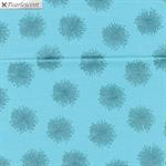 Pearl Reflections -  Floating Dandelion - Teal