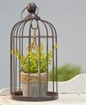 Plant Holder - Bird Cage with Plant Holder, Small