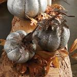 Pumpkin - Galvanized Metal Pumpkin, X-Small
