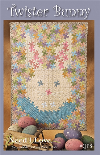 QUILT PATTERN- TWISTER BUNNY