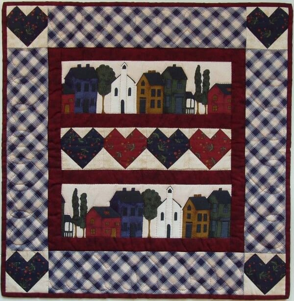 Quilt Kit - Hearts & Homes