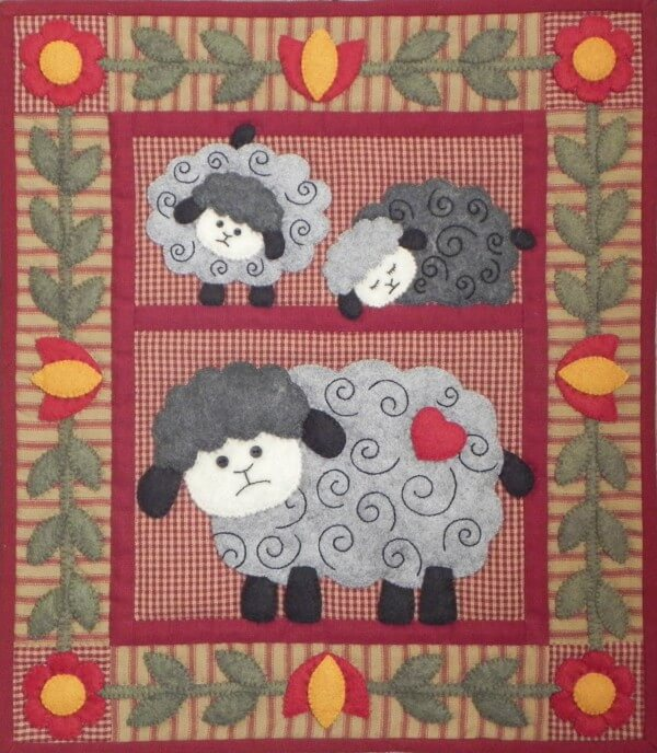 Quilt Kit - Twin Lambs