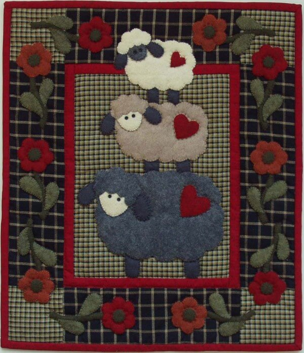 Quilt Kit - Wooly Sheep