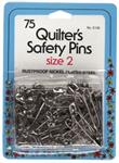 SAFETY PINS - QUILTER SIZE 2