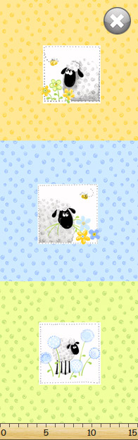 SusyBee - Lewe The Ewe - Pillow Panel, Multi