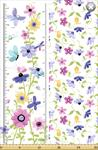 Susybee - Flutter the Butterfly - Growth Chart, Lilac