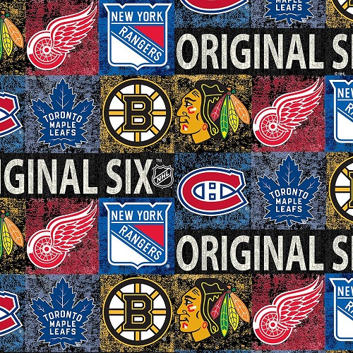 Sykel - NHL - Original 6 - Distressed Logo A/O