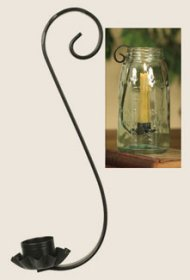 Taper Candle Holder For Quart