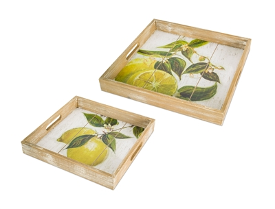 Tray - Lemon Print, Large