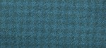 WOOL FAT QUARTER - Houndstooth - Ocean 16' X 26'