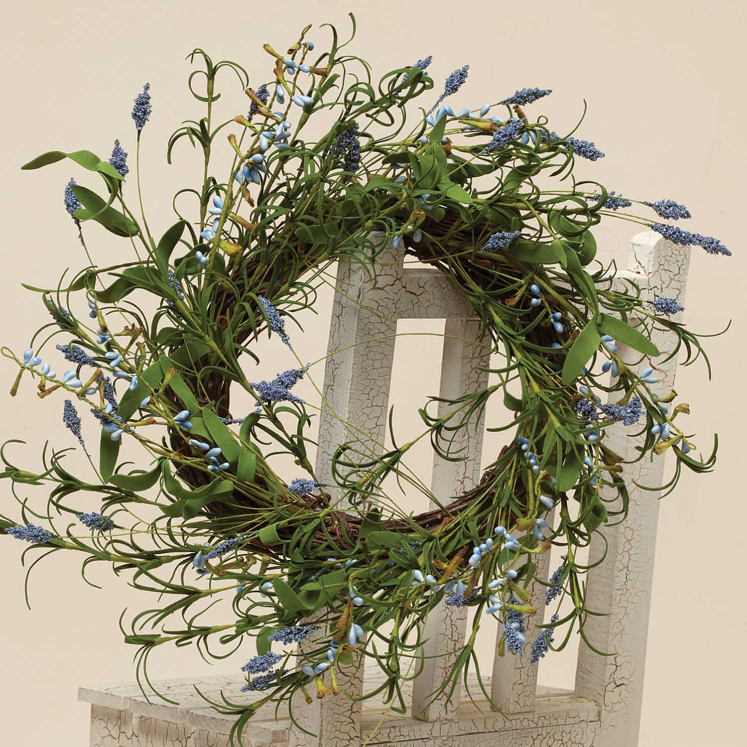 WREATH - WILD LAVENDER WREATH 14'